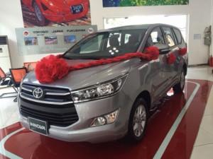Bán Toyota Innova 2.0E model 2017 Trả góp, CHỈ CẦN 100TR,bán xe giá Vốn, Khuyến mãi Khủng