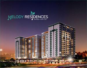 Nhận nhà ở ngay MT Âu Cơ Melody Residences Hưng Thịnh chỉ 1,7 tỷ căn ( bao VAT )