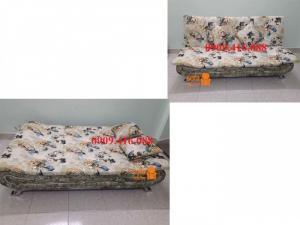 Ghế sofa kéo ra thành giường vải nỉ đẹp
