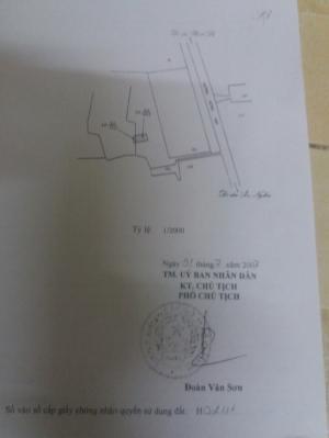 Kẹt tiền cần bán gấp lô đất thổ cư mặt tiền rừng sác,DT 8x35m.giá 7 triệu/m2