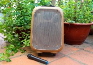 Loa Kéo Soundmax M6 Cao Cấp Công Suất 80W, Hỗ trợ thẻ nhớ, bluetooth, USB..+ Tặng Kèm Mic Không Dây - MSN181205