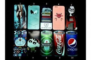 Ốp lưng iPhone Dẻo in Hình 3D Lạ