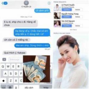 Diễn viên Lã Thanh Huyền cũng tin dùng sản phẩm