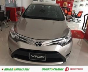 Bán Toyota Vios 2017 Số sàn trả Góp, Vay 100%...