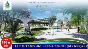 Bán đât biển giá rẻ - cạnh tổ hợp giải trí bậc nhất Châu á Cocobay