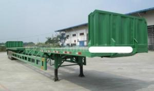Bán Sơ mi Rơ mooc tải chở thép ống, thép thanh linh kiện nhập khẩu đồng bộ từ Hàn Quốc