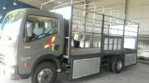 Xe tải 6T5 máy NISSAN thùng 5m1