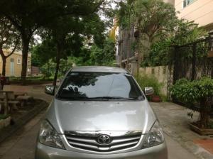 Bán xe Innova 2.0G màu bạc sx cuối 2010 chính chủ