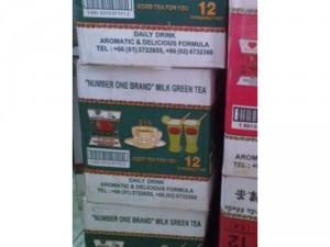 Thùng trà thái xanh
