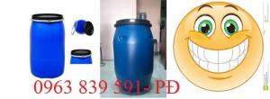 Thùng phuy đựng hóa chất 50l-220l