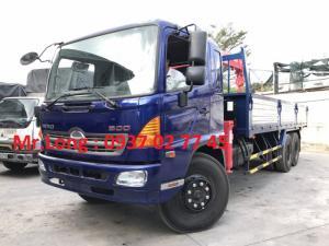Hino 3 chân gắn cẩu, xe cẩu Hino 15 tấn , Hino 3 chân ngắn gắn cẩu , Hino FL8JTSA gắn cẩu , xe tải cẩu 15 tấn Hino , Xe tải Hino FL8JT7A, Xe cẩu Hino FL8JT7A
