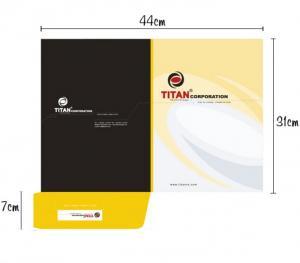 In ấn và thiết kế folder name card