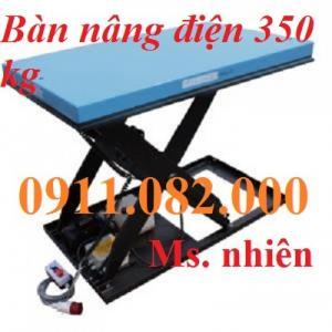 Bàn nâng điện, bàn nâng tay 350 kg giá rẻ