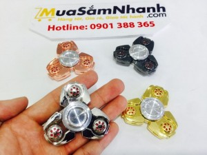 Spinner UFO Kim Loại Cao Cấp, Con Quay 3 cánh UFO, Fidget Spinner, Hand Spinner - MSN388149