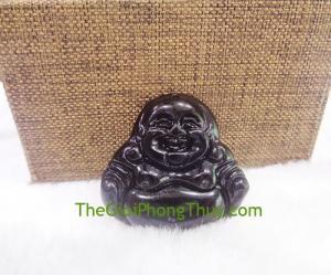 Phật di lạc hắc ngà-FS6494