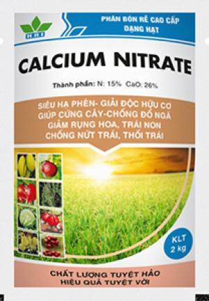 Calcium nitrate – phân bón rễ cao cấp dạng hạt