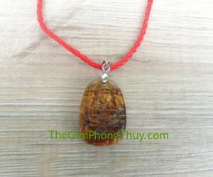 Phật bản mệnh đá mắt mèo nhỏ – Thiên Thủ Thiên Nhãn (Tý) FS6484-1