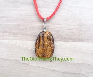 Phật bản mệnh đá mắt mèo nhỏ -Văn Thù Bồ Tát (Mão) FS6484-3