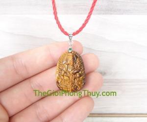 Phật bản mệnh đá mắt mèo nhỏ-Phổ Hiền Bồ Tát (Thìn+Tỵ) FS6484-4