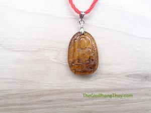 Phật bản mệnh đá mắt mèo nhỏ-Bất Động Minh Vương (Dậu) FS6484-7