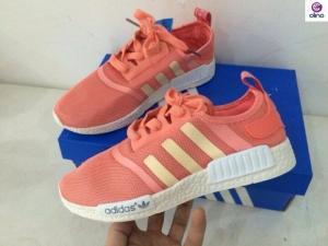 Giày thể thao nữ NMD màu hồng size 36 - 39