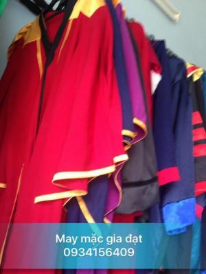 Áo tốt nghiệp đại học, áo tốt nghiệp các cấp