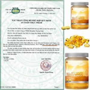 Thực phẩm bổ sung viên nang mềm Omega3 15397