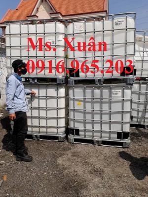 Cần bán bồn ibc 1000l hàng nhập khẩu