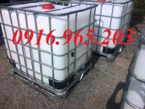 Thanh lý tank nhựa mới 1000l đựng hóa chất