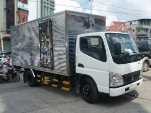Xe tải Fuso Canter 4.7-1.9 giá tốt, khuyến mãi tặng thùng, có xe giao ngay