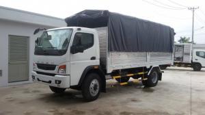Xe tải Fuso FI 12R (tải trọng 7T) mới đời 2017, có ưu đãi thêm, có xe giao ngay