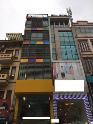 Bán nhà mặt phố Bạch Mai Hai Bà Trưng Hà Nội, 6,5 tầng mt 4m 114m2