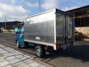 Xe Tải 990kg, Thaco Towner 990, thùng kín, tiêu chuẩn khí thải Euro 4