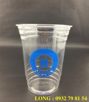 Sản xuất  ly nhựa nắp cầu
