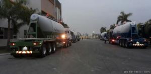 Ro Mooc Xitec chở Xi măng 31m3 Doosung DV-BS3S-300C-1, nhập khẩu