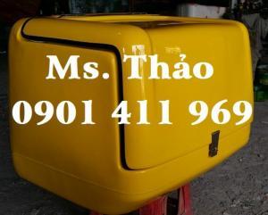 Thùng giao hàng tiếp thị, thùng hàng tiếp thị loại nhỏ, thùng chở hàng sau xe máy