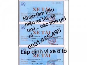 Nhận làm giấy phép vận tải để xin phù hiệu xe vận tải
