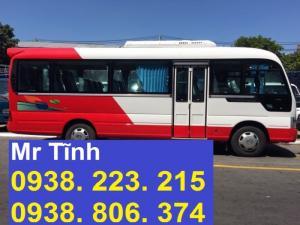 Mua bán xe khách Hyundai County 29 chỗ; bán xe khách 29 chỗ trả góp