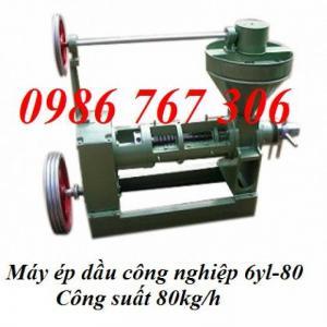 Cần mua gấp máy ép dầu công nghiệp 6yl-80,máy ép dầu công nghiệp giá rẻ.