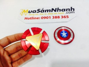Combo Con quay Spinner Captain America &...