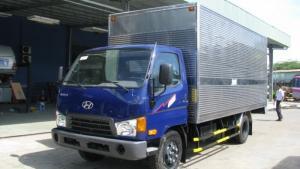 Xe tải Hyundai HD99 thùng kín - Trả trước 100 triệu, giao xe ngay