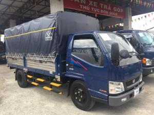 Hyundai IZ49 2,4 tấn thùng mui bạt - Trả trước 50 triệu, giao xe ngay