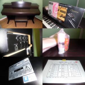 Đàn Piano điện Yamaha CLP330