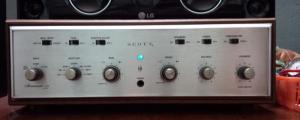 Ampli đèn Mỹ Scott 233 stereo, xách tay từ Mỹ