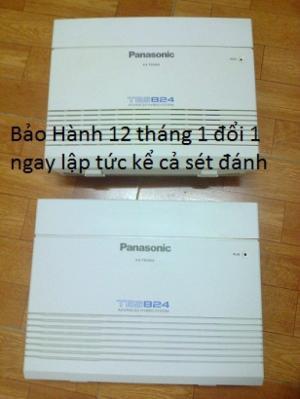 Tổng đài điện thoại Panasonic KX-TES824 Đã hết bảo hành hãng(BH 12 tháng CH)