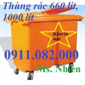 Thùng rác 60l, 70l, 120l, 240l khuyến mãi giá cực rẻ
