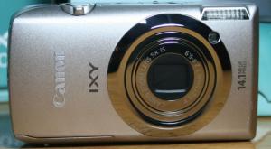 Máy ảnh Canon IXY, độ phân giải 14.1 mp quay...