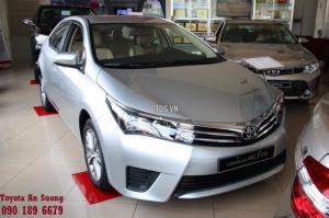 Altis 1.8G số sàn 2017, Corolla Altis 1.8G CVT. Ưu đãi giá chỉ từ 689tr