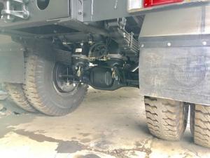 Xe tải ben 2 cầu Viettrung 7,5 tấn cầu dầu khóa vi sai