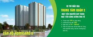 HomyLand Riverside - Căn Hộ Ven Sông Cuối Cùng Của Q2 - 26tr/m2
